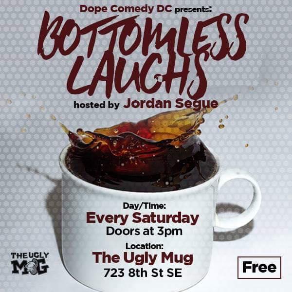 Bottomless Brunch Tuesday, Feb 12th 9:3opm-11:oopm The Ugly Mug | 723 8th St. SE | Washington, DC 20003