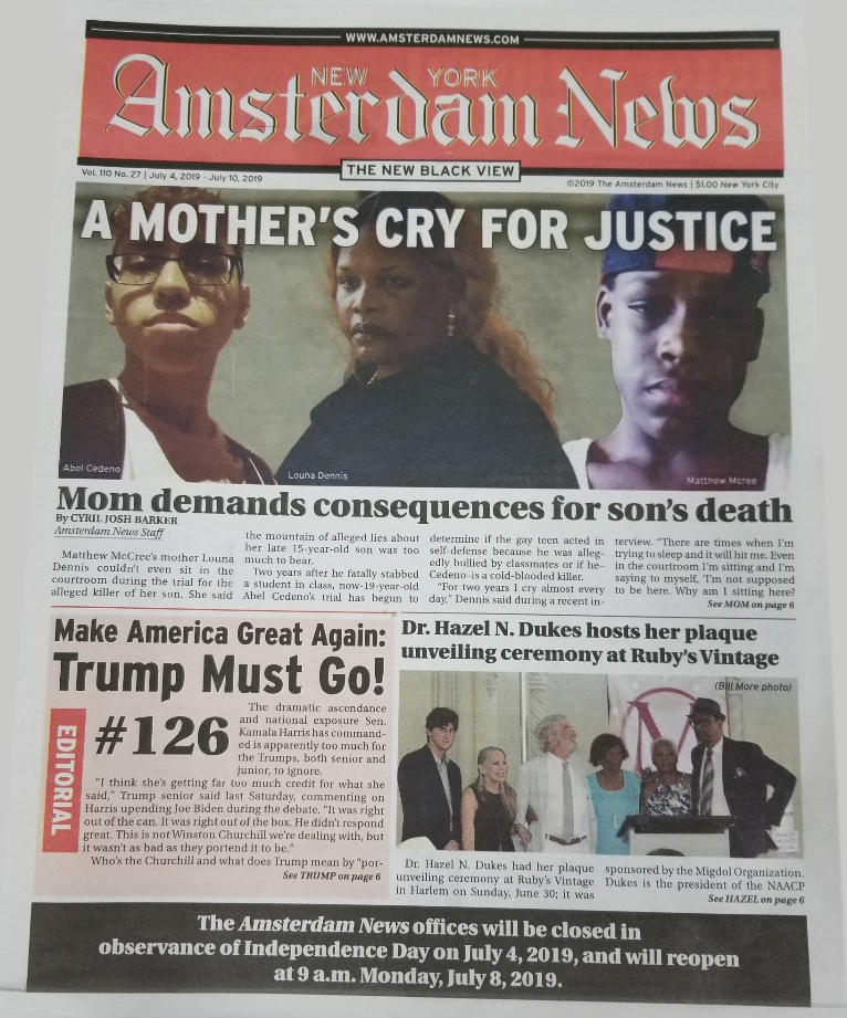Amsterdam News Front Page.jpg