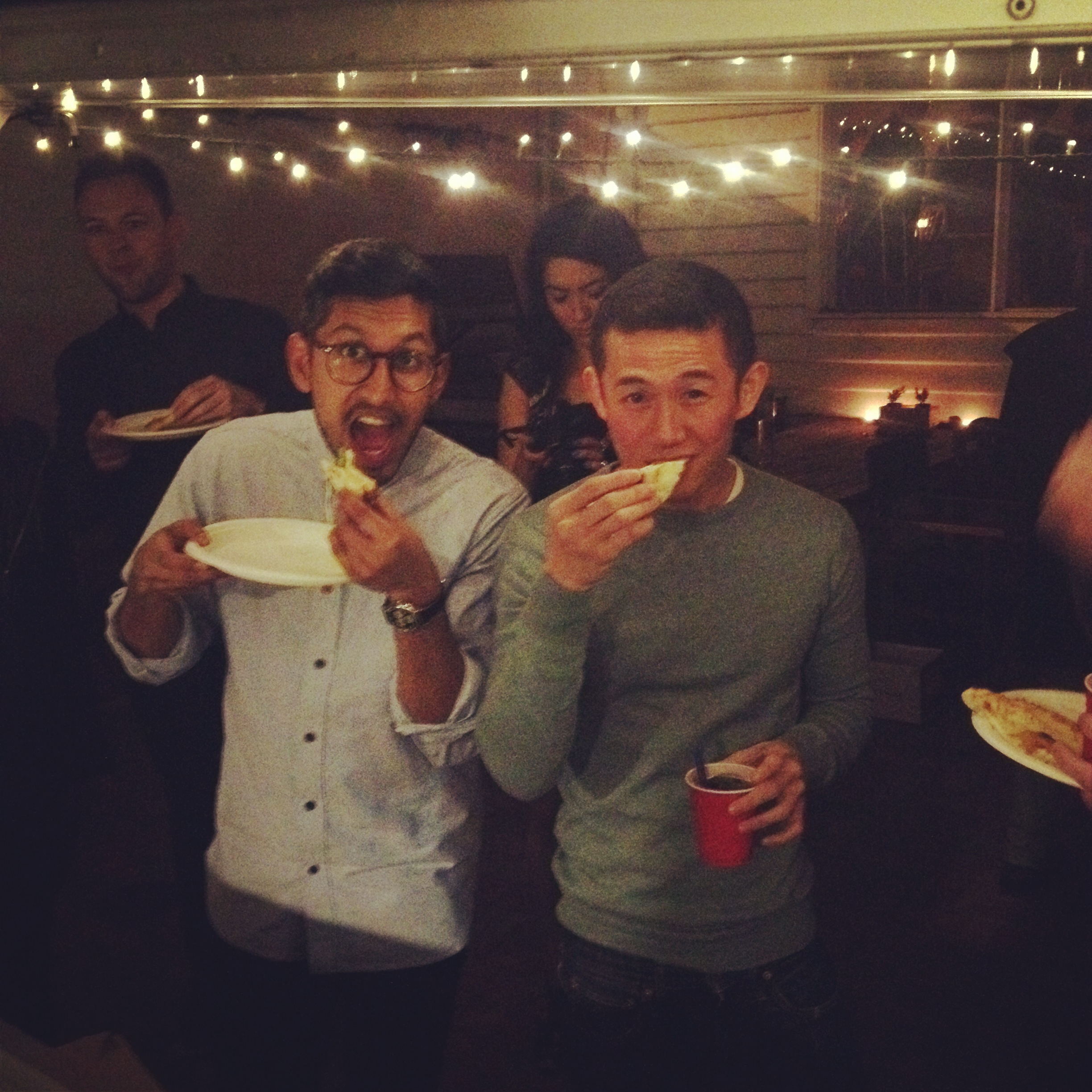 """""""Thanks guys, amazing set up and pizza was great. Compliments are still flowing through. So tasty!"""" Tom Maddick"""