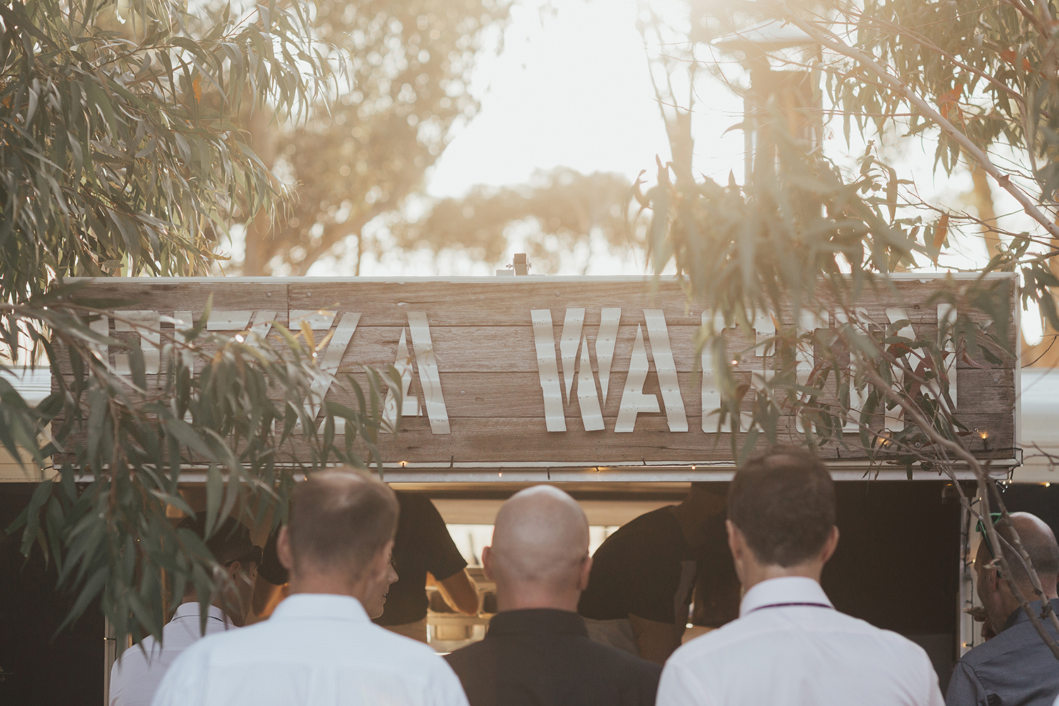 We just want to express how thankful we are with how awesome and flexible you were on Sunday for our wedding! The weather was absolutely horrid and really threw out our perfect plan for the pizza wagon to be incorporated into the event. Never the less you killed it, it was amazing and we can not thank you all enough! Hannah Jones