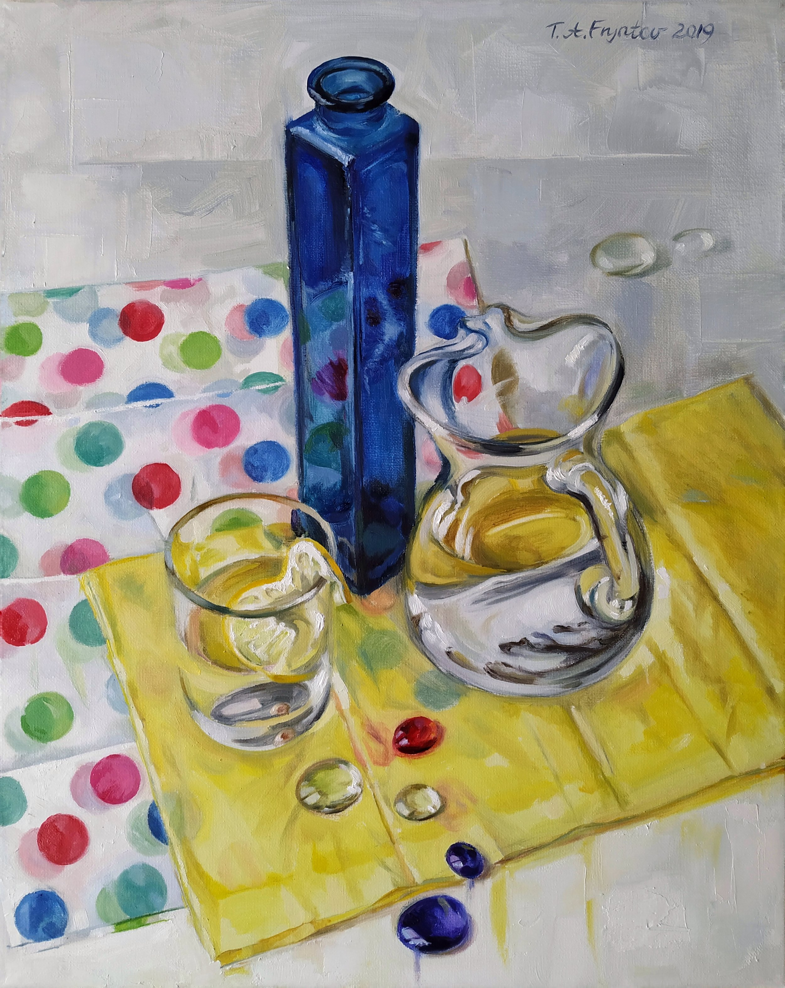 The Glass and the Polka Dots. 2019