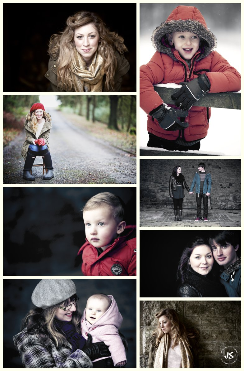 collage of baby, toddler and young adult portraits