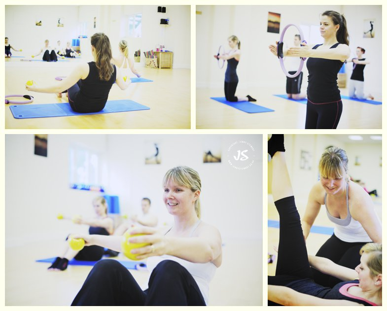 callanetics class with Windrush Fitness