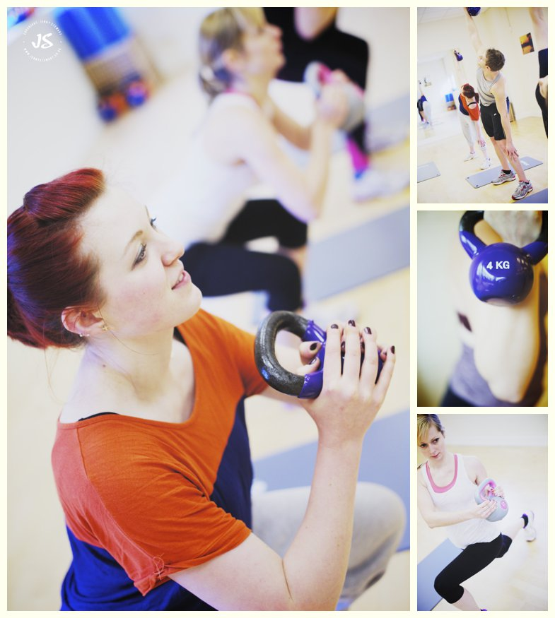kettlercise class with windrush fitness