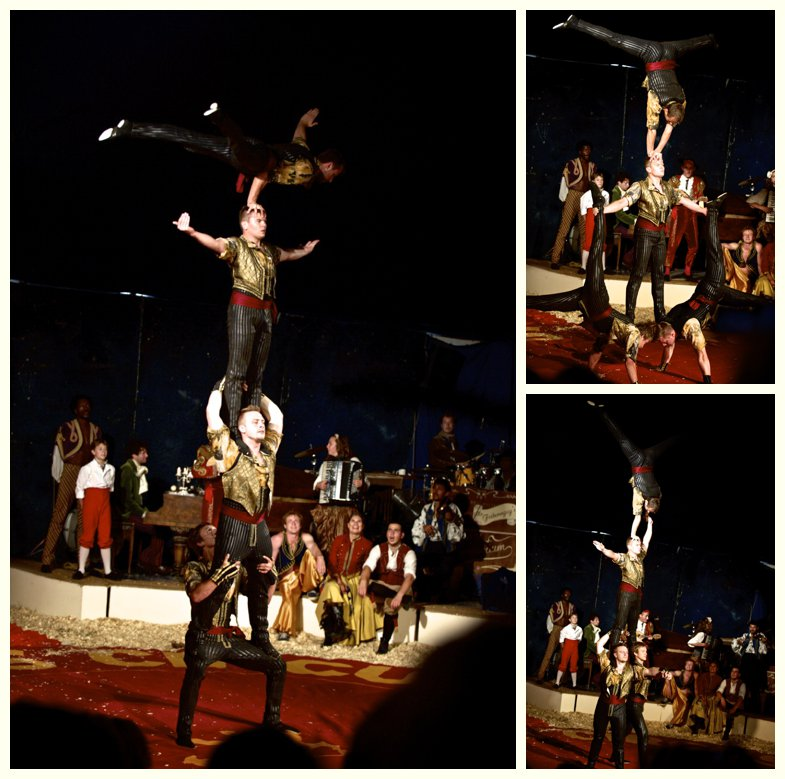 tumblers at Giffords Circus