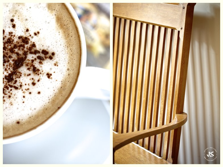 The Royal Exchange Hartbury cappuccino and chair