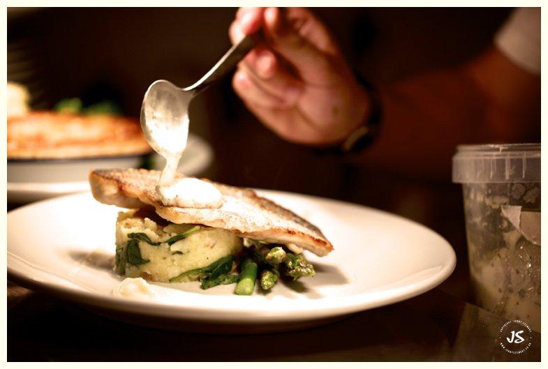The Lamb Inn Great Rissington Food