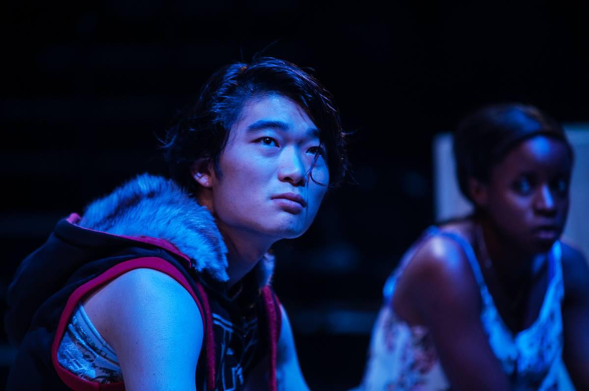 Charles Wu andBelinda Jombwe. Photography: Dylan Evans.