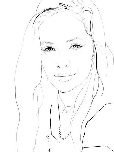 Ashleigh Cummings. Illustration: Julian Meagher