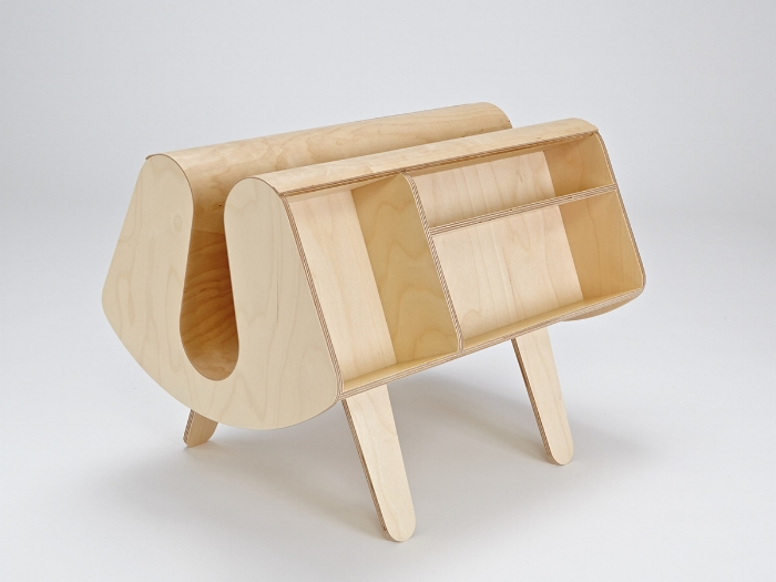 Donkey Magazine Rack © Isokon Plus