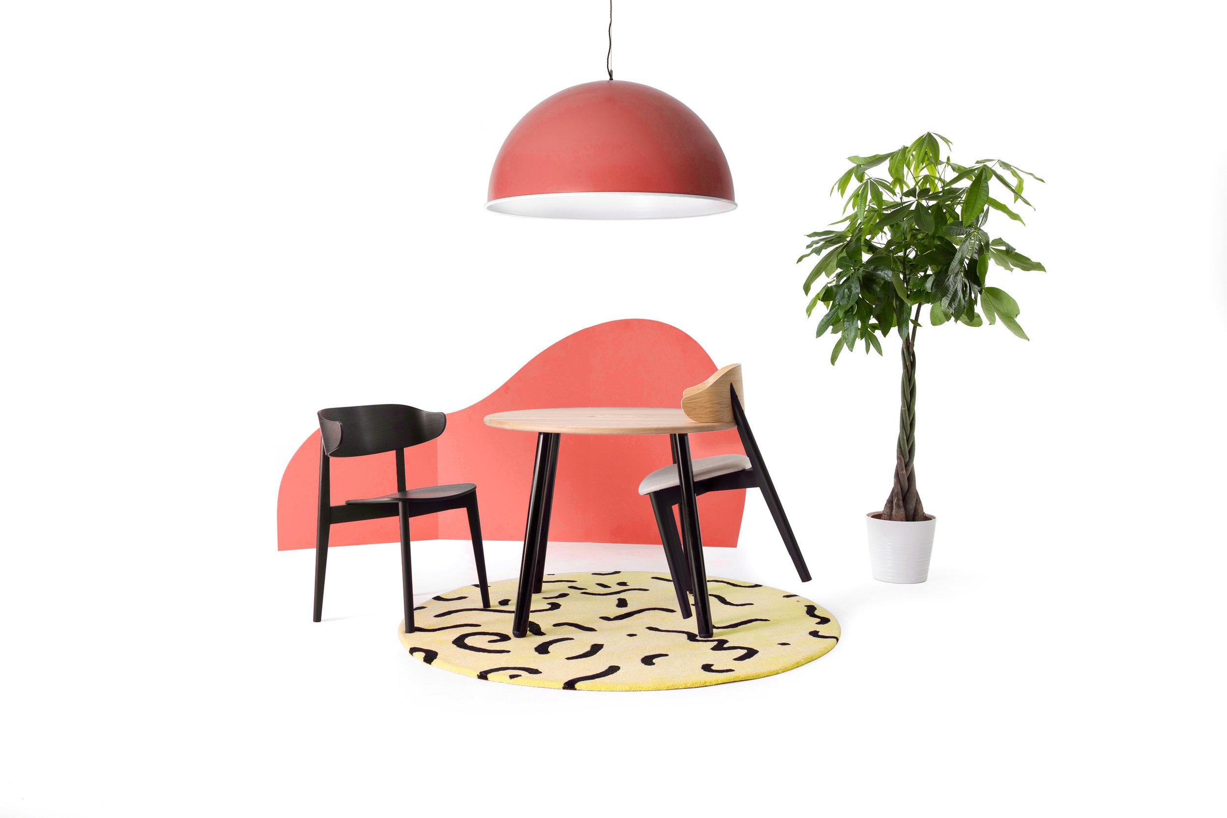 CDW18_Deadgood_Setter_Chair_Spun_Light_WG_Table_Pop_Rug.jpg