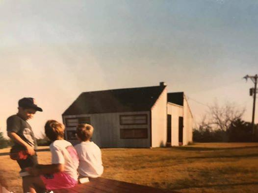 "Cabins on the Hilltop - Once upon a hilltop, our cabins stood in the area we now consider ""Search,"" overlooking all of the horizon around. With these cabins no longer present on the hilltop, we campout under the stars near their original foundations each Thursday night."