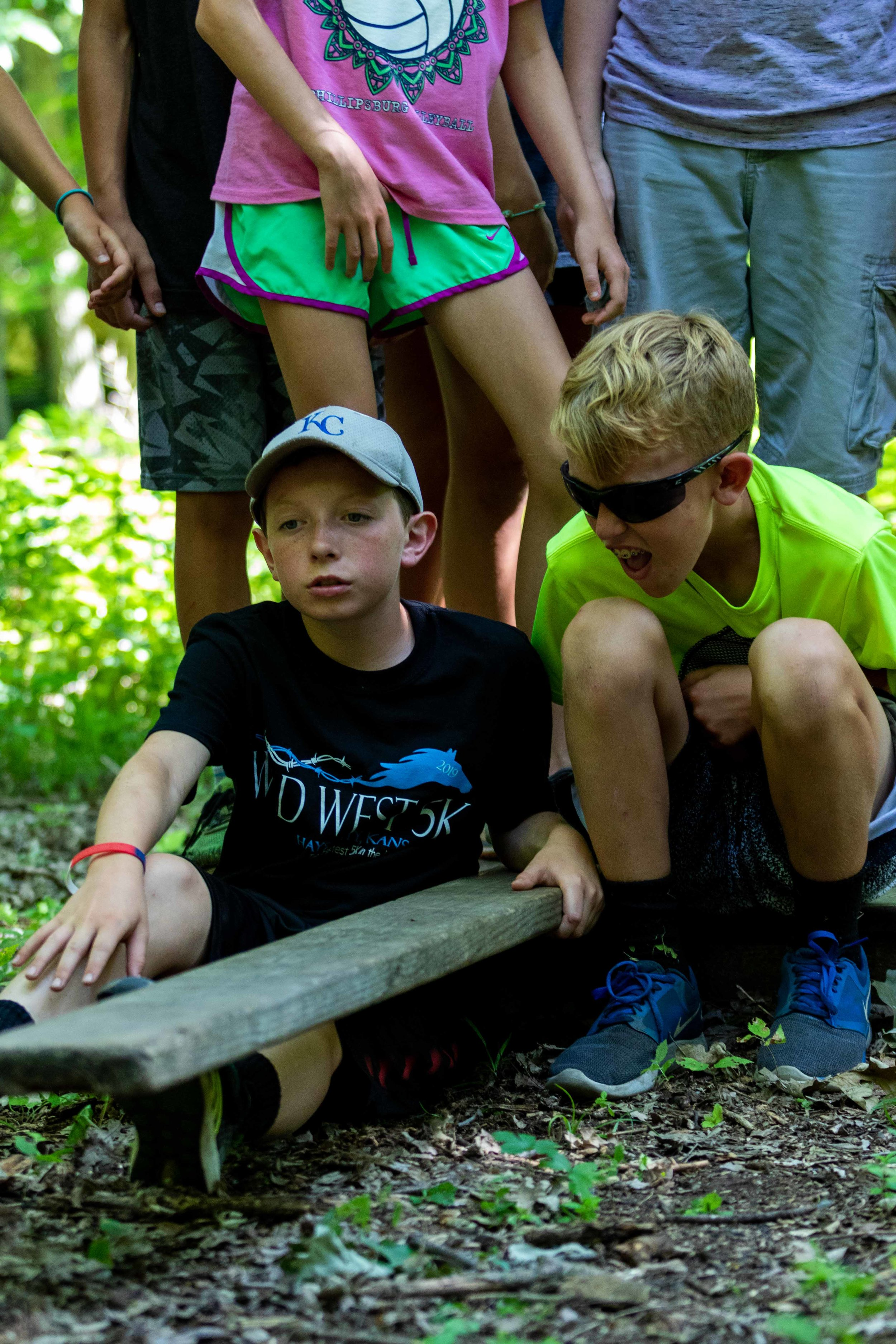 Low Ropes Course - Not a fan of heights, but still want the team building? Then our low ropes course is for you. With multiple challenges meant to encourage teamwork and communication, you will leave low ropes with a stronger bond than you began.