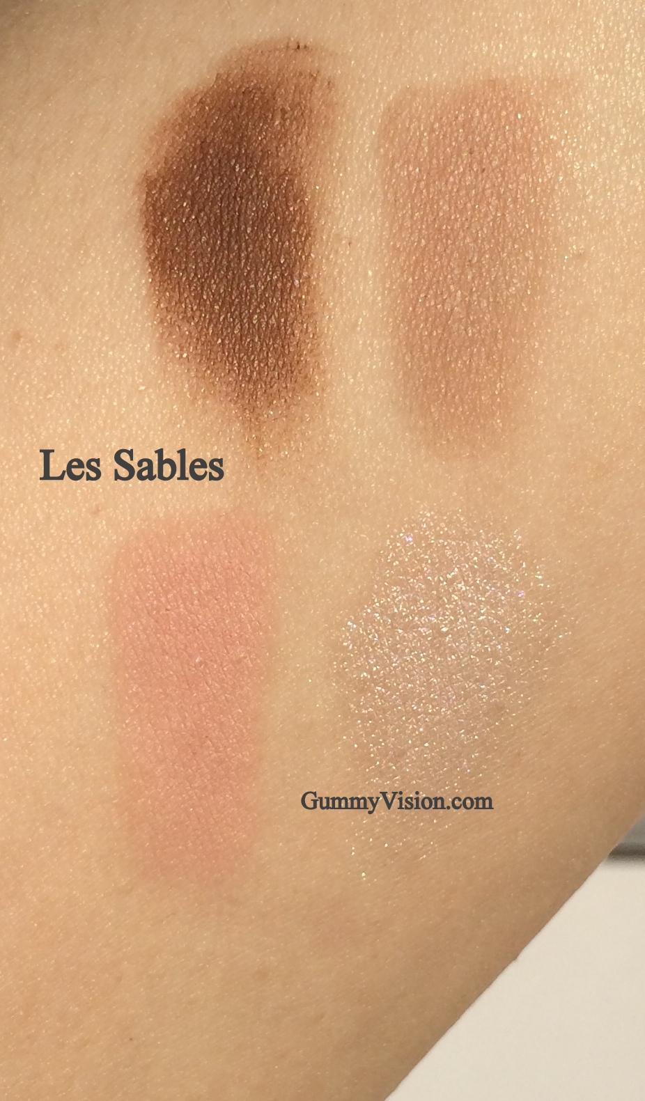 Guerlain Les Sables - evening sunlight