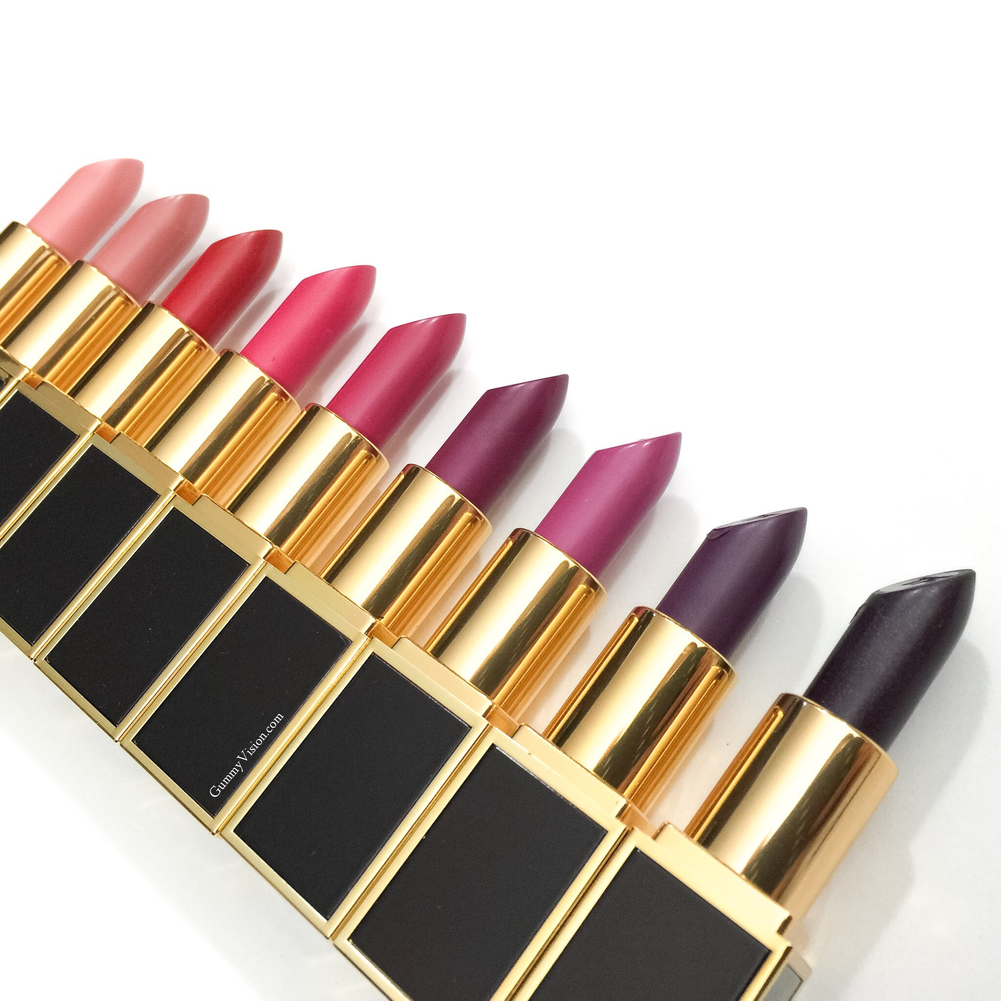 Tom Ford Lips & Boys (top to bottom) in Flynn, Addison, Luciano, Cooper, Francesco, Xavier, Jack, Liam, Alasdhair - www.gummyvision.com