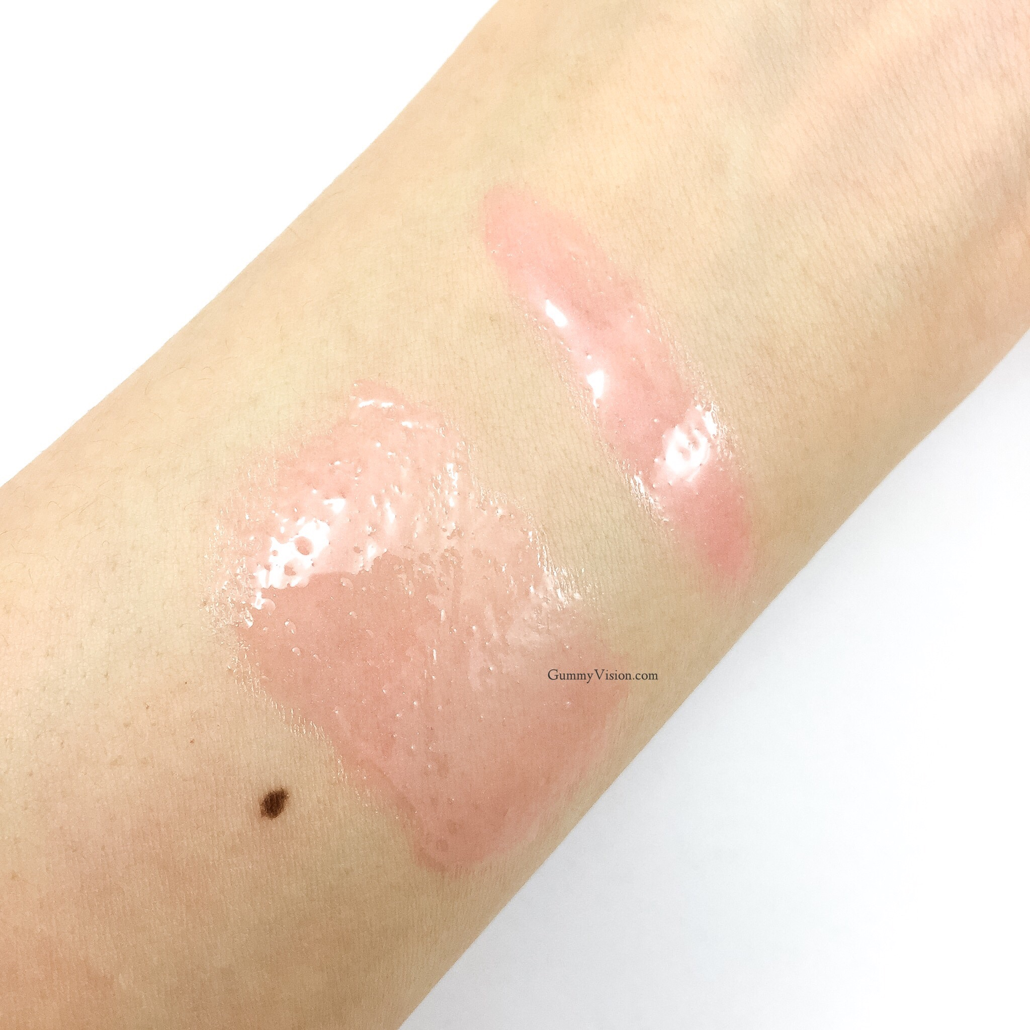 YSL Volupte Tint-In-Oil in 4 I Rose You swatches - www.gummyvision.com