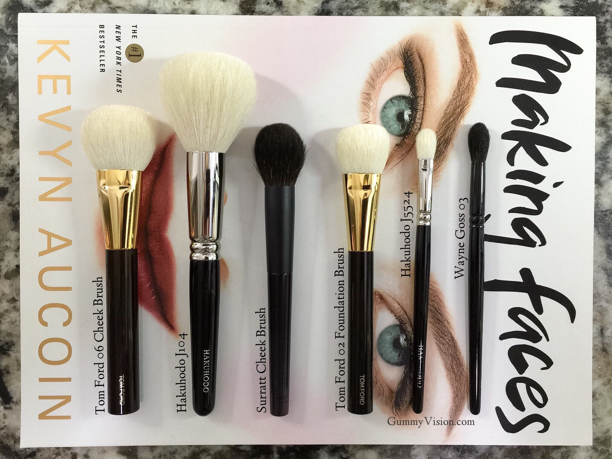Most Used Brushes: May 2015