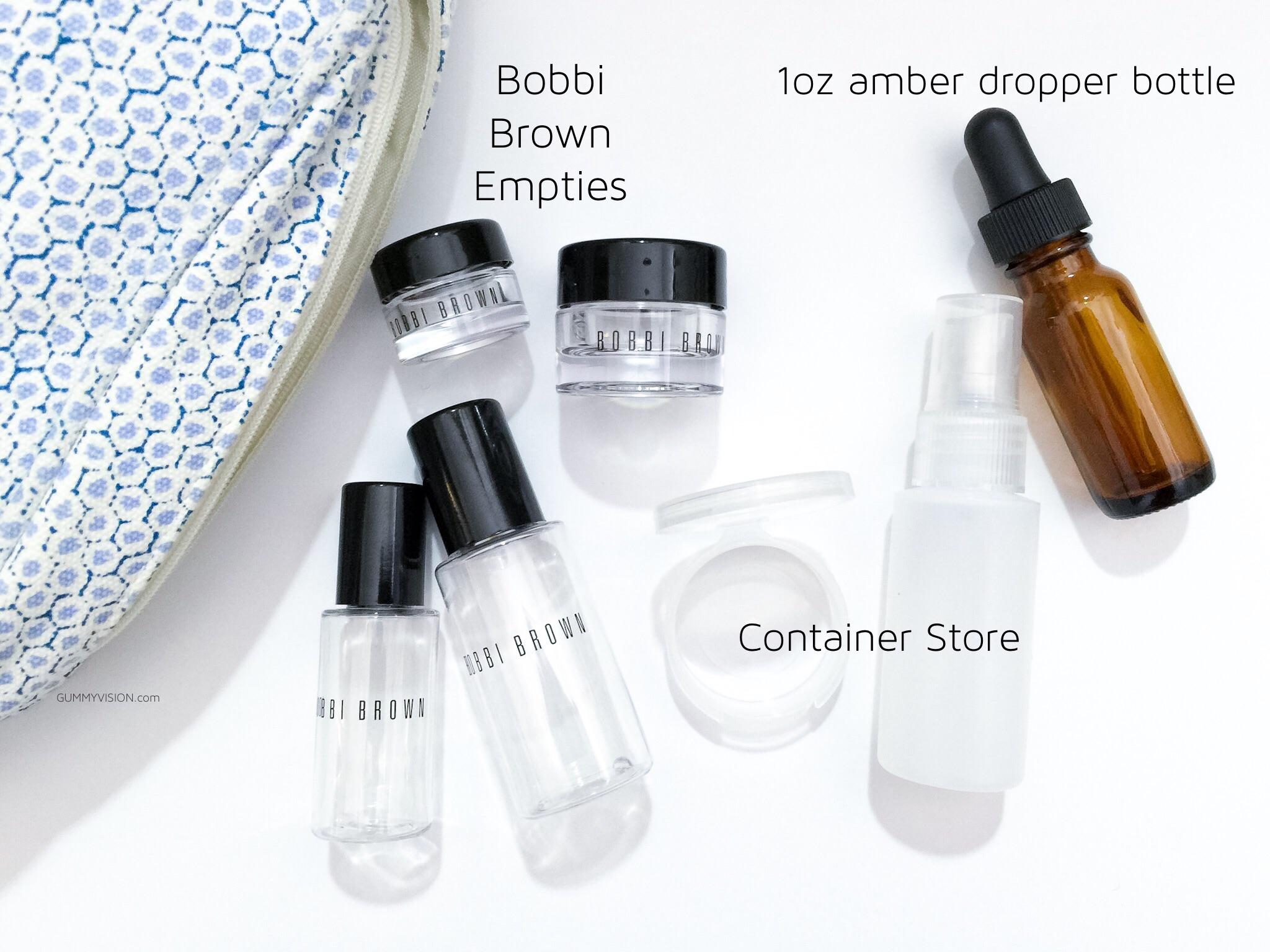Favorite Travel Containers - gummyvision.com