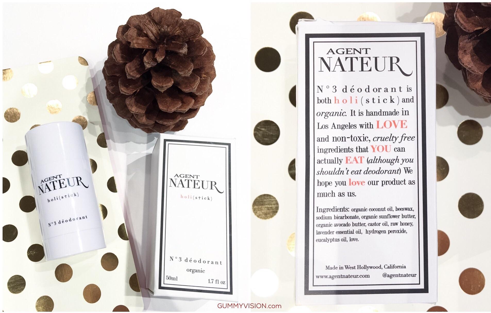 Click image to enlarge & read the ingredient list . Agent Nateur N°3 Deodorant - gummyvision.com