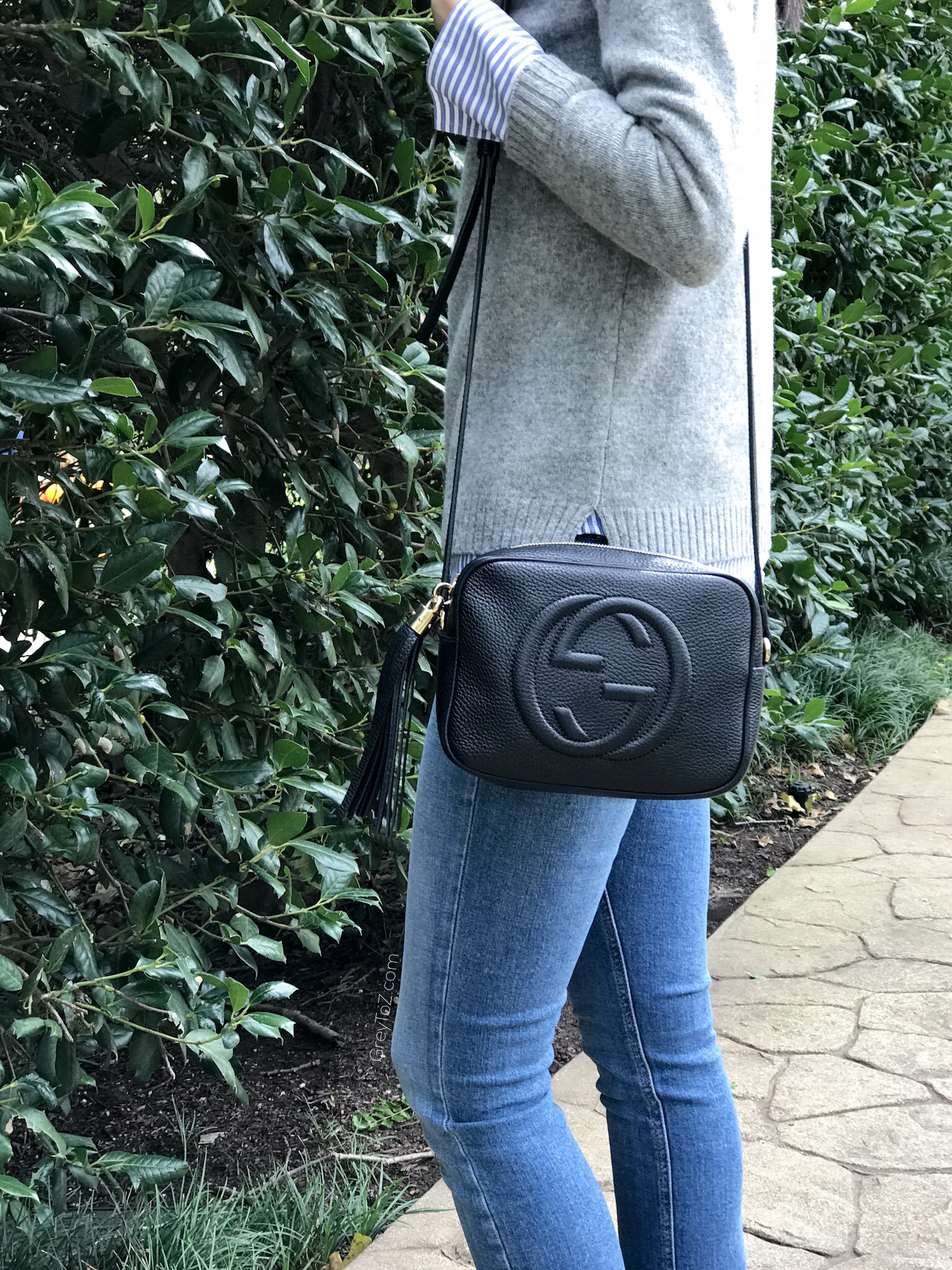 What S In My Bag Review Gucci Soho Disco Grey To Z