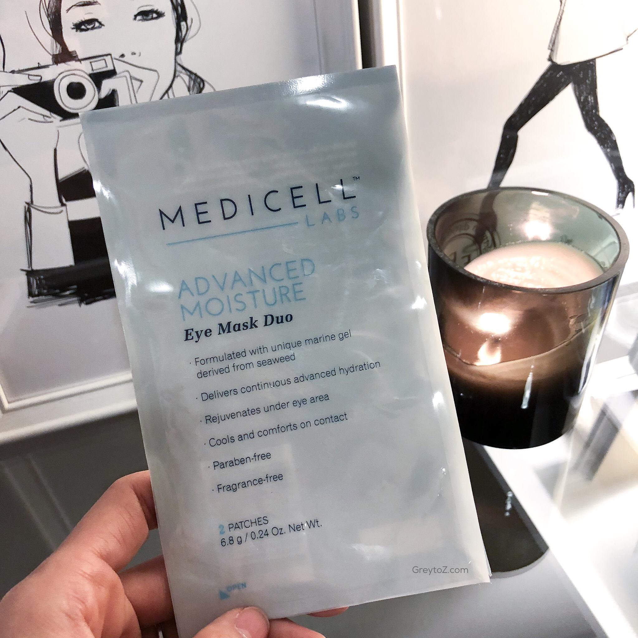 Medicell Advanced Moisture Eye Mask Duo