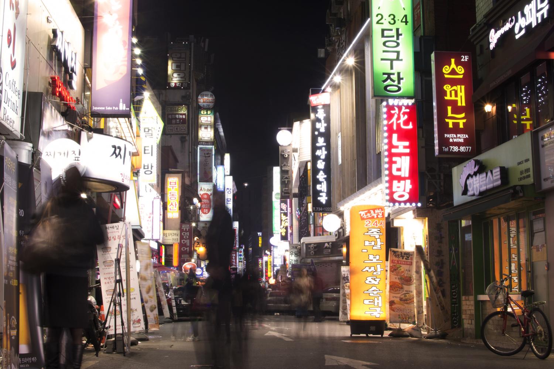 Saturday Night  Seoul  2012