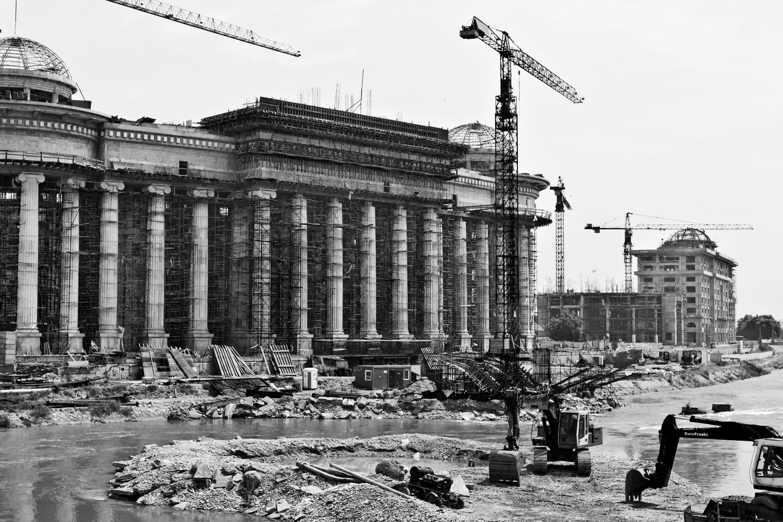 Refacing  Skopje  2012