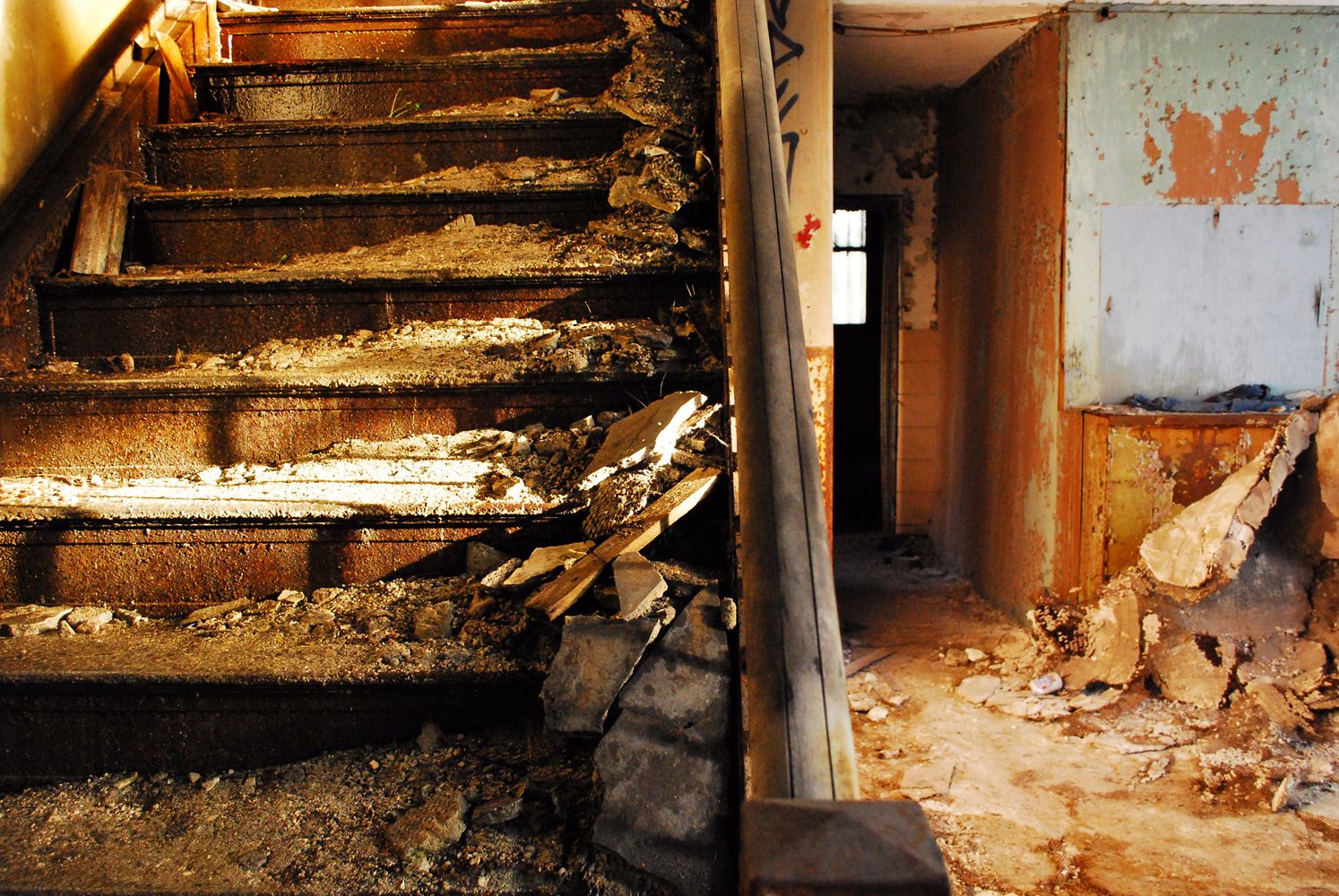 BANK STAIRWAY, INDIANA, US  2009