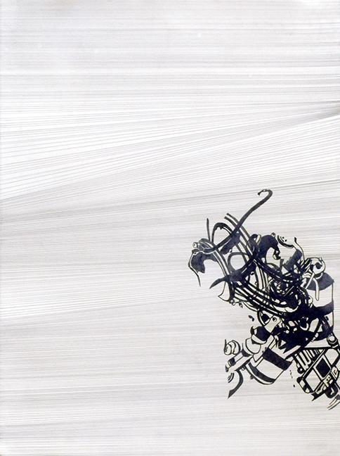 "22  Graphite on paper  24"" x 12""  2006"
