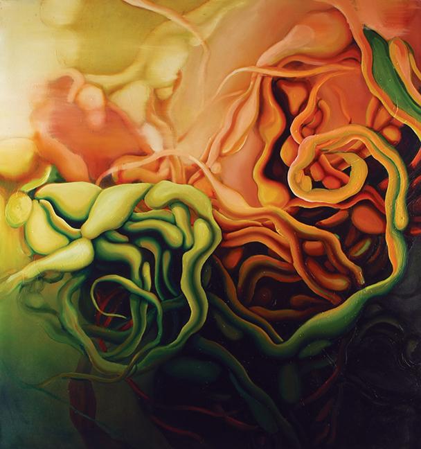 Parallax  Oil on canvas  2006