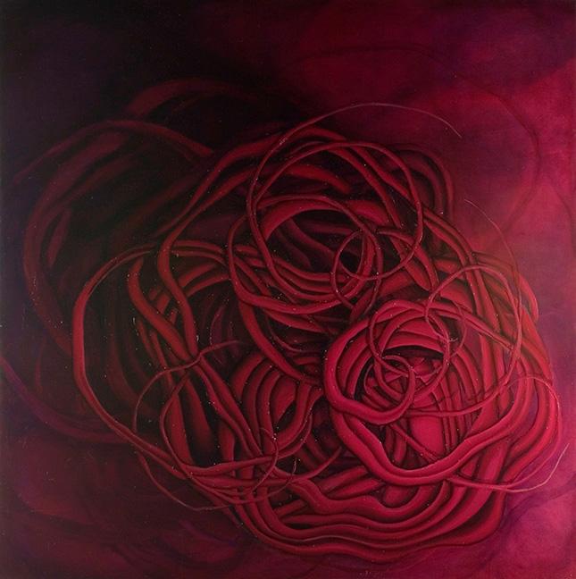 Recondite Anathema  Oil on Canvas  2006