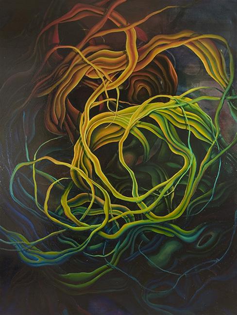 Onimbus Viscera  Oil on canvas  2005
