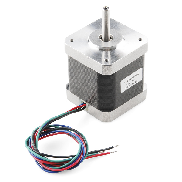 Wantai- 42BYGHM809 a 2 phase 3V motor from Sparkfun