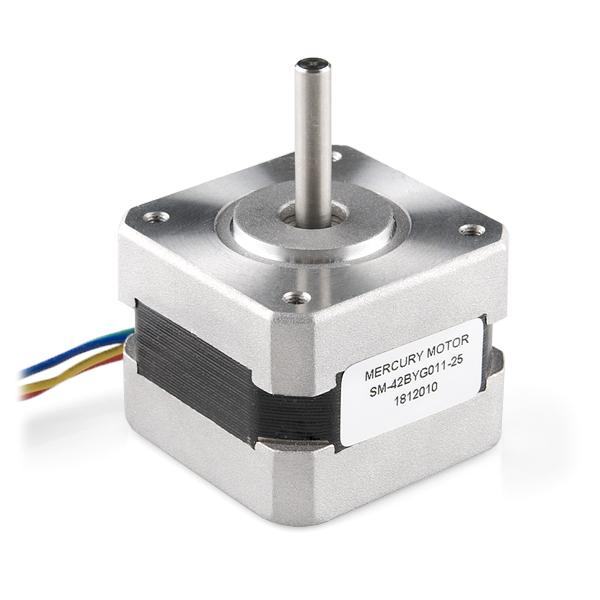 SM-42BYG011-25 - a bipolar 12V 2 phase stepper motor - from Sparkfun