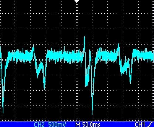 Signal from PMT - bipolar