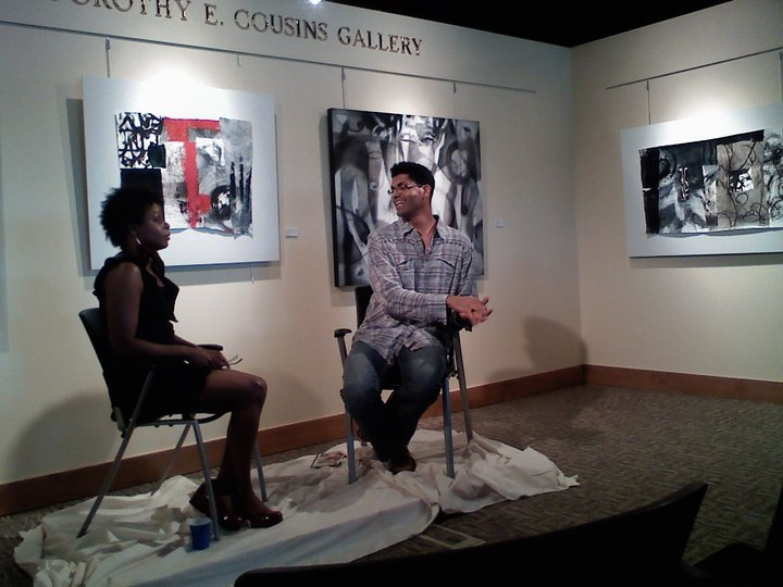 Interview at The Blair Caldwell Gallery