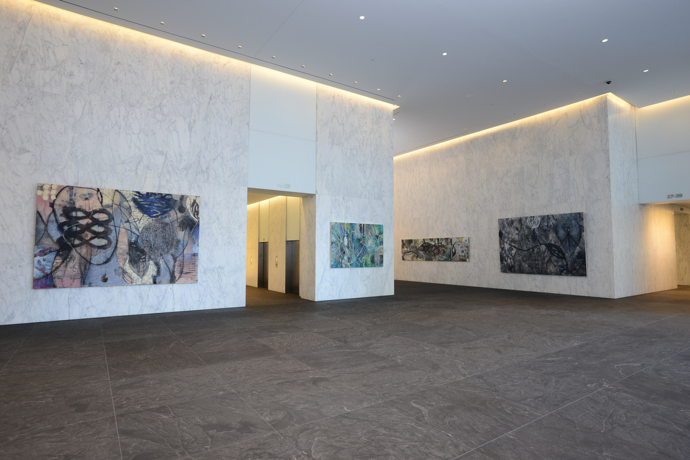 Solo_exhibit_ArtsBrookfield_1801_Lobby_Modern_art