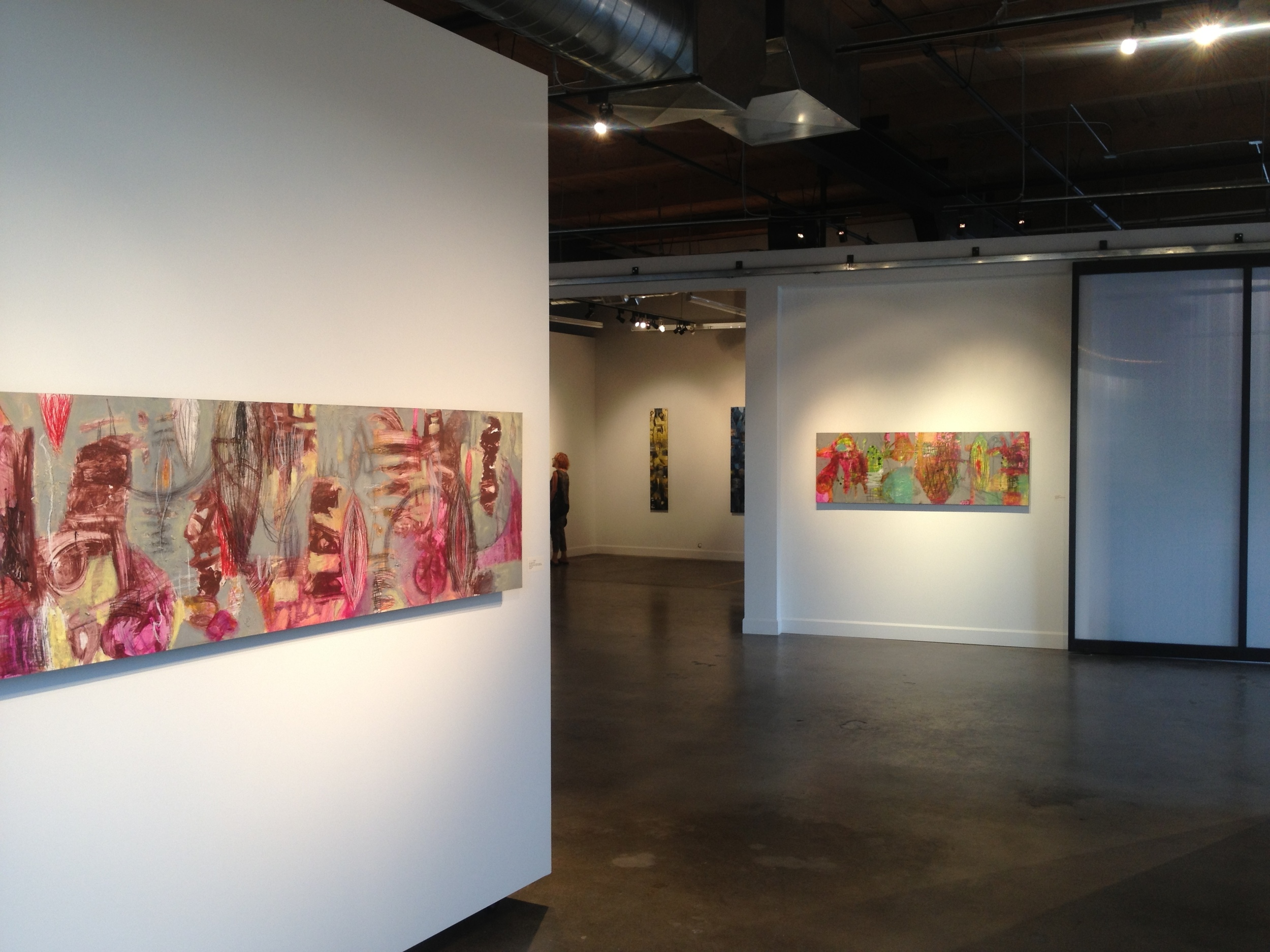 Raw Marks: solo exhibit at ArtHaus gallery 2014