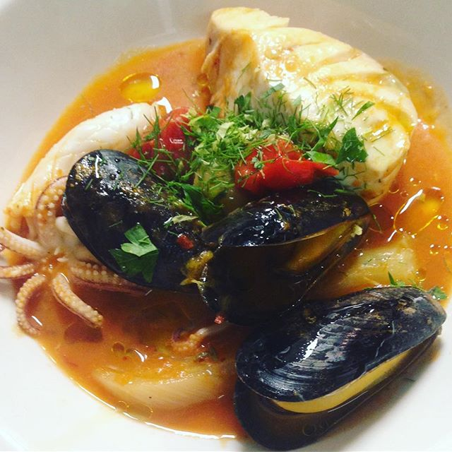 #seafood #stew tonights entree thank you @southoldfishmarket #hamptons #eeeeeats #chefsofinstagram #newyork