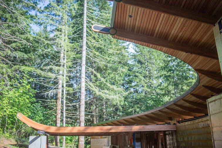 Oshatz House Roofline