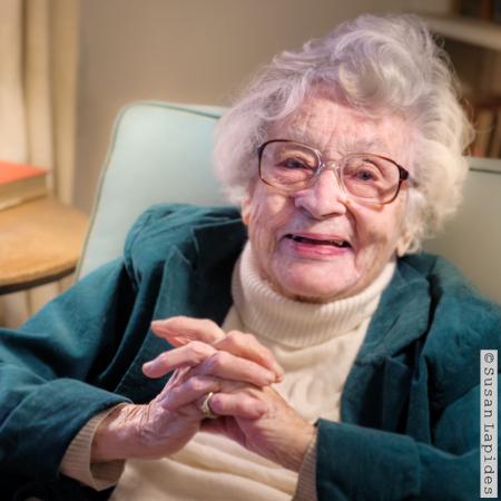 WISDOM AT 102    Marian C. Schlesinger