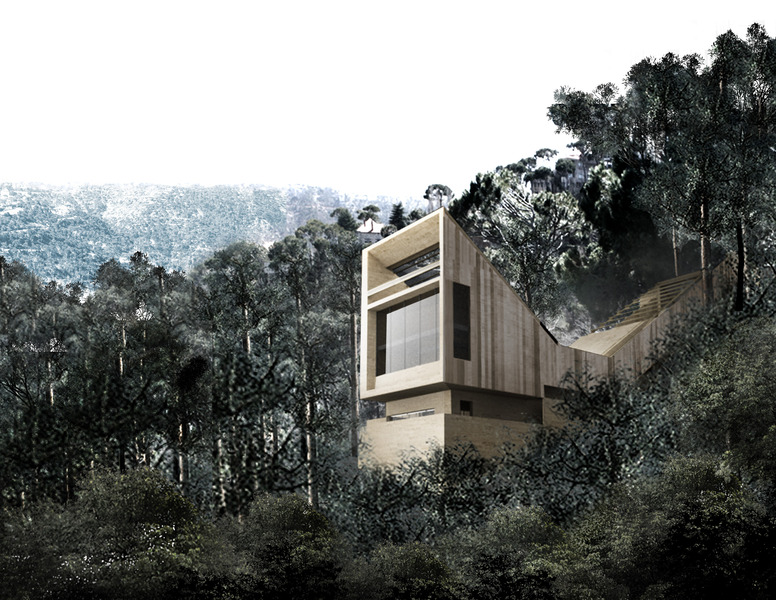 Dhour House by Hashim Sarkis