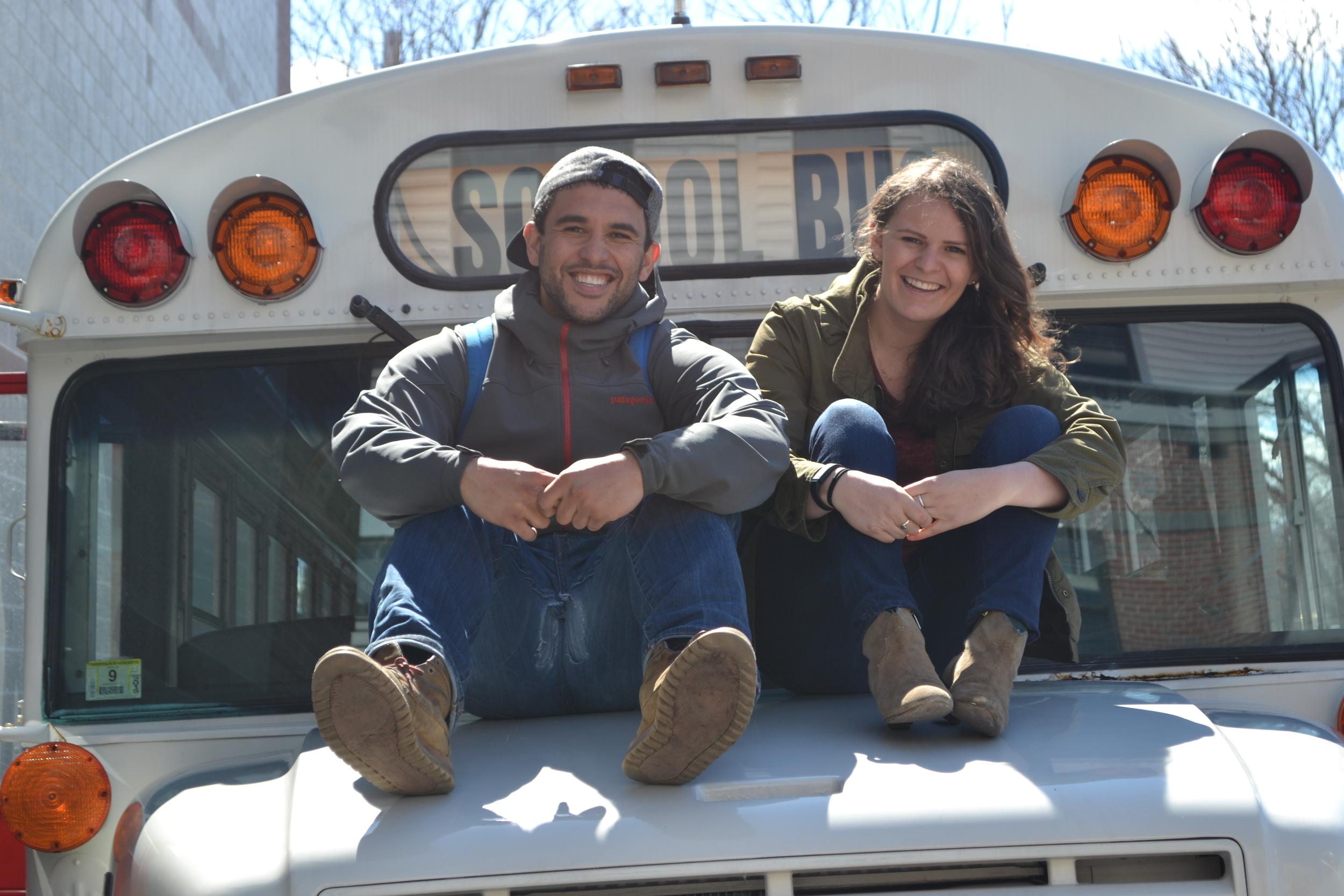 Josh and Fresh Truck Marketing Director Annika Morgan