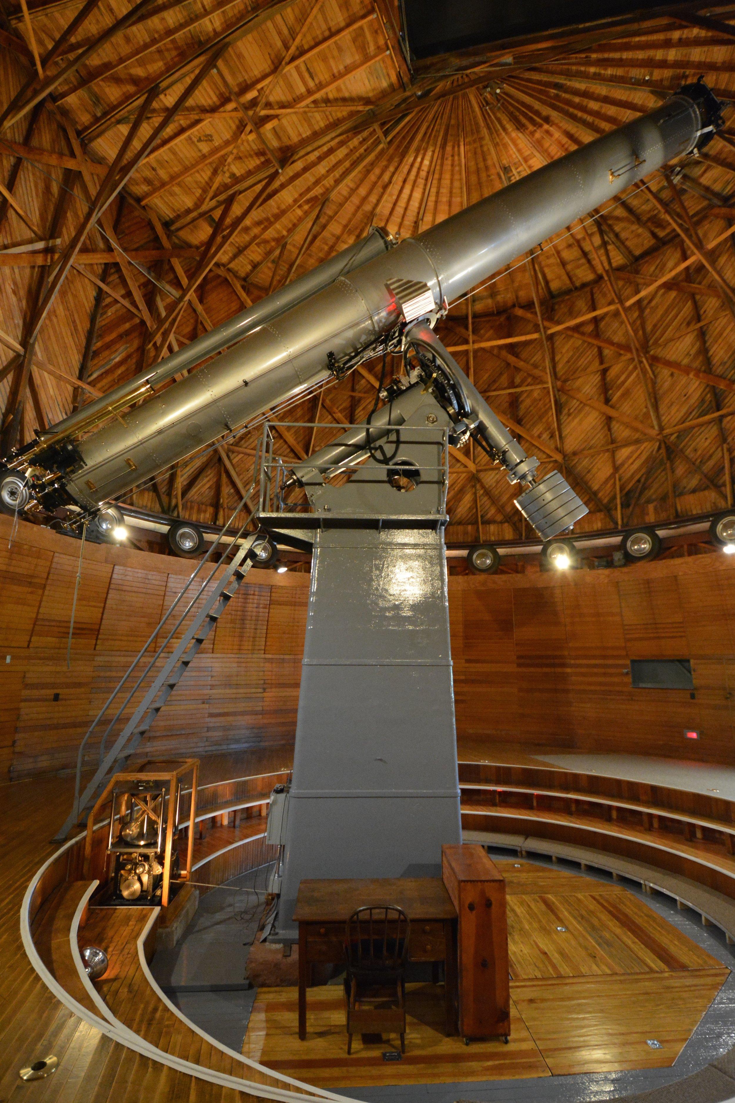 The Clark Telescope. Image Credit: Conant/Blazek/Lowell Observatory