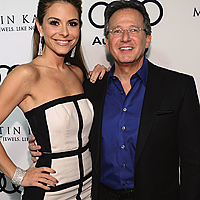 Michael Buckner/Getty Images   Maria Menounos and Martin Katz at a Golden Globes event in 2012