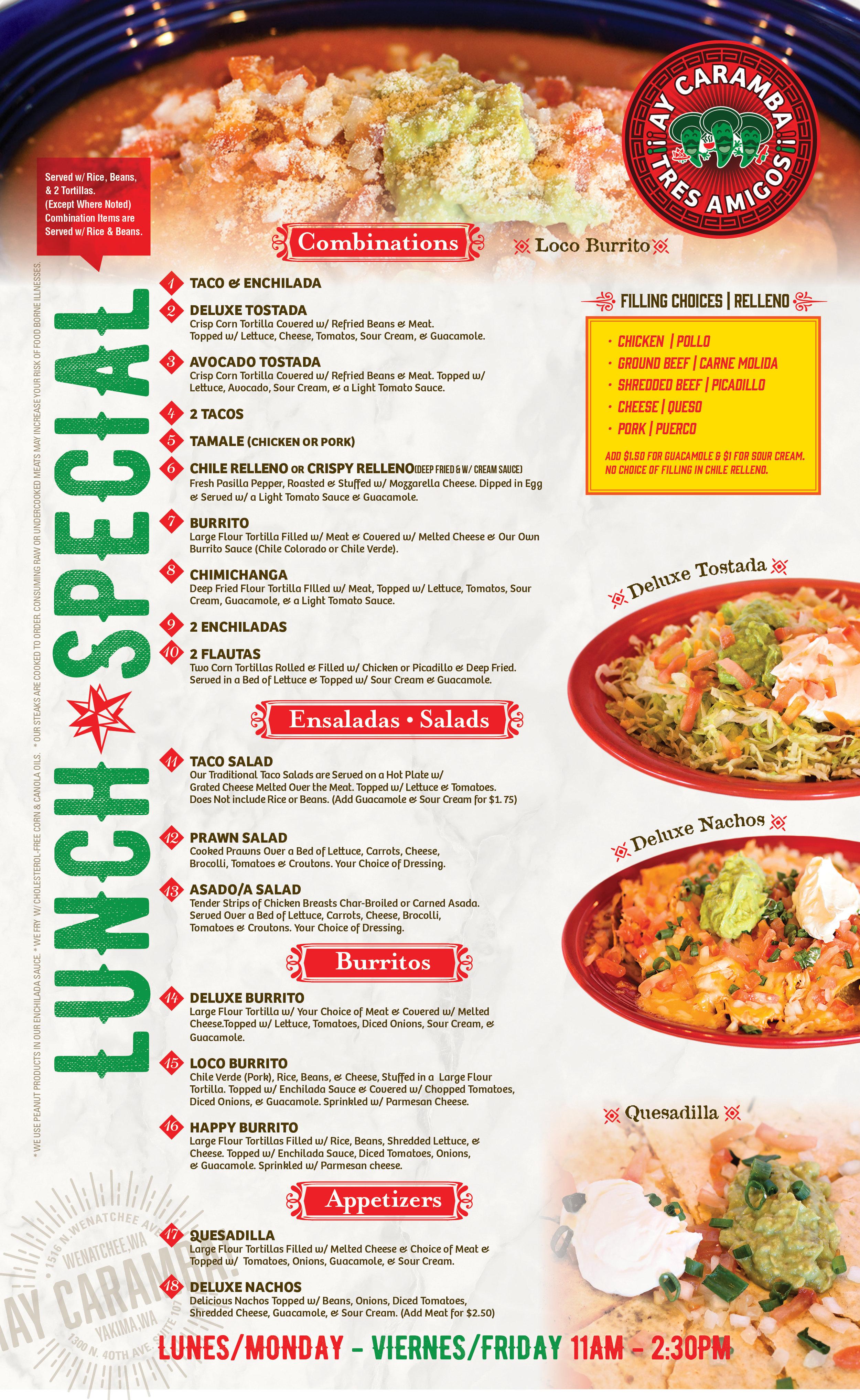 Ay Caramba_Wenatchee_Lunch Special Menu.jpg