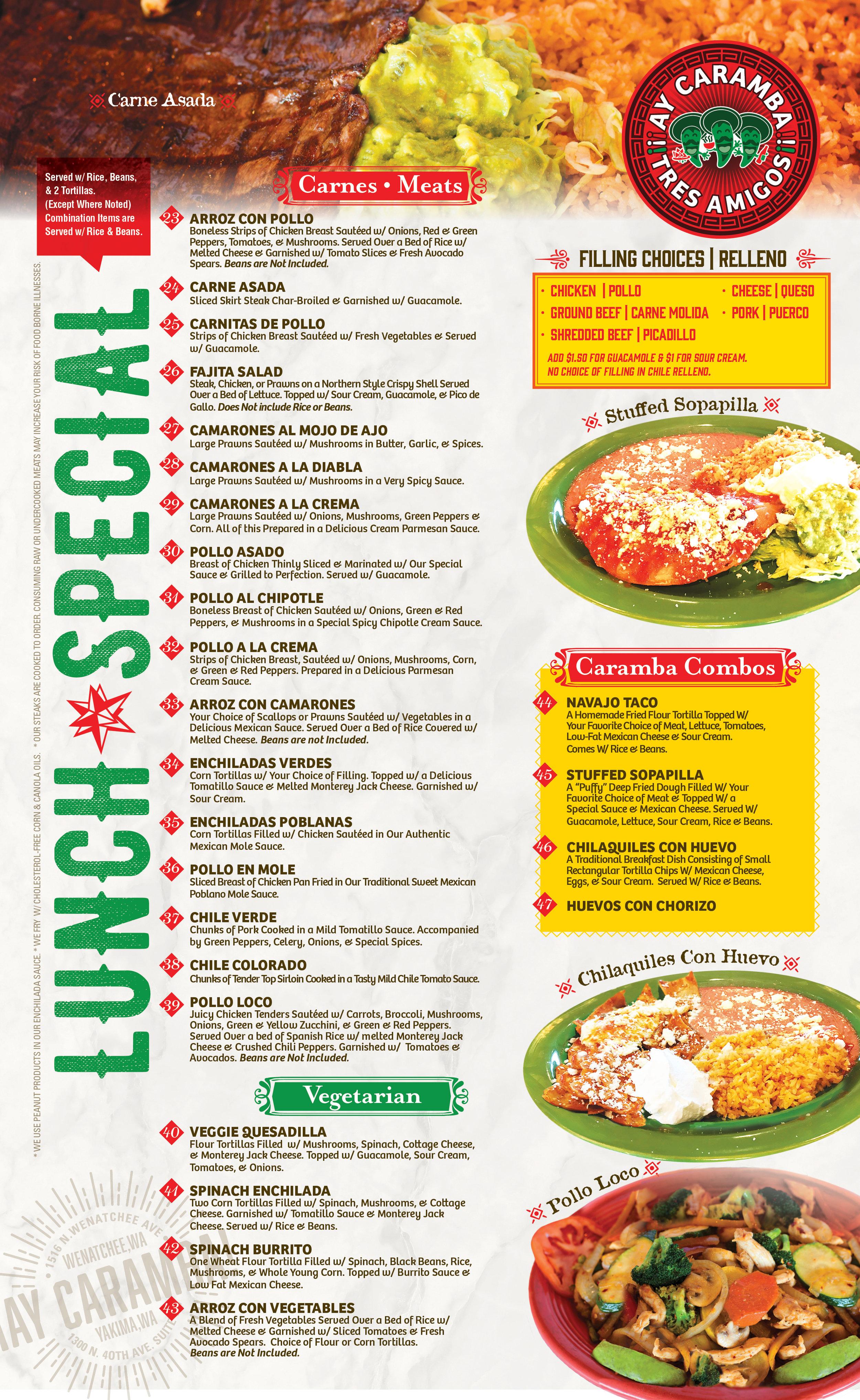 Ay Caramba_Wenatchee_Lunch Special Menu2.jpg