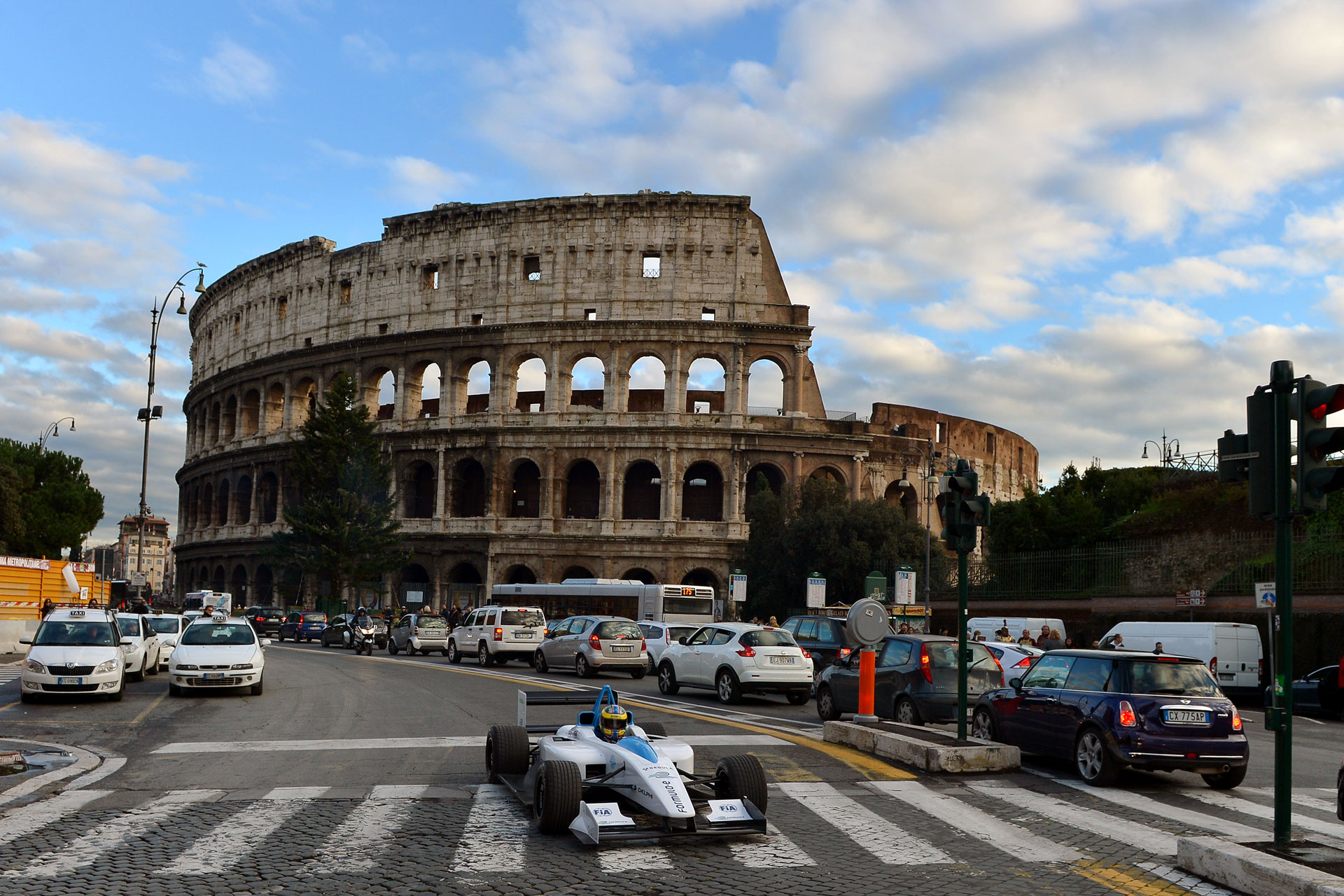The first race of the Formula E will be Sept 2014 in Rome