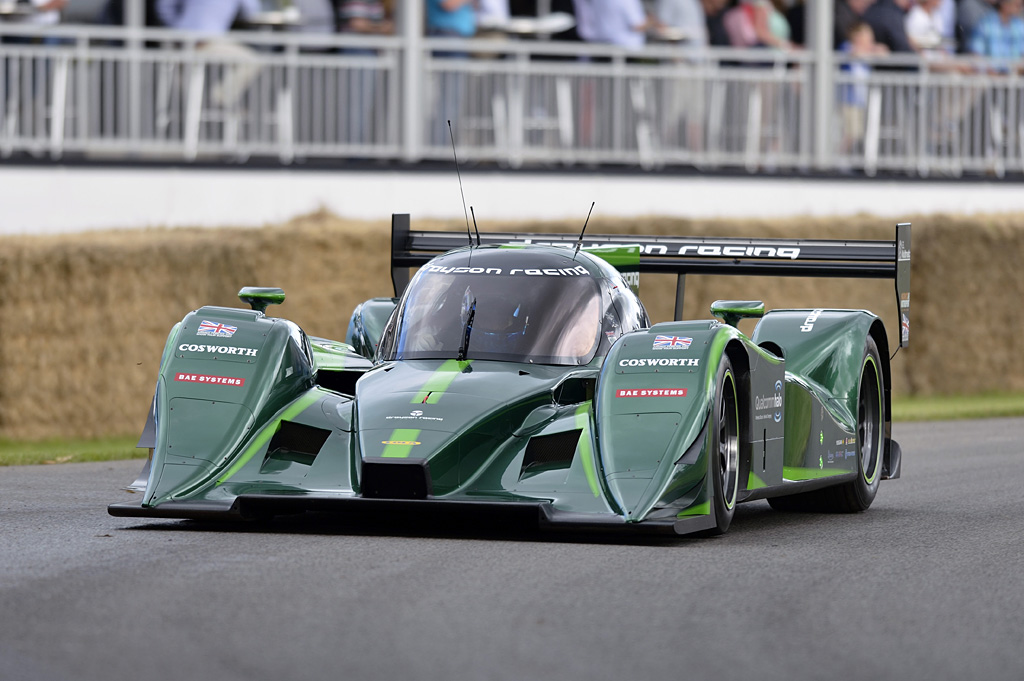 Drayson's Electric Racing Vehicle, capable of achieving over 200mph for their World Record, is made ready for inductive charging