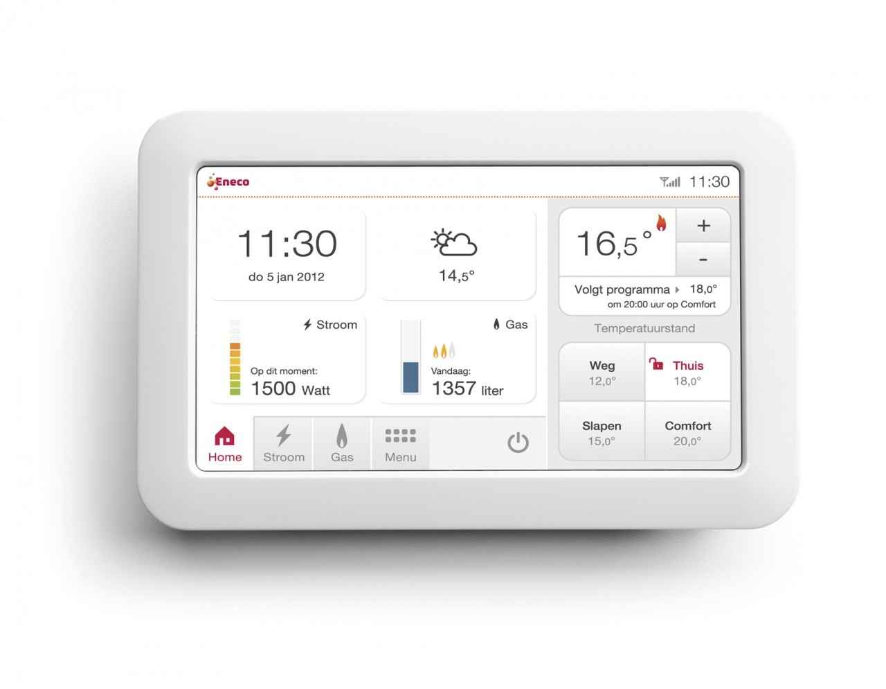 The  Toon  thermostat from Eneco